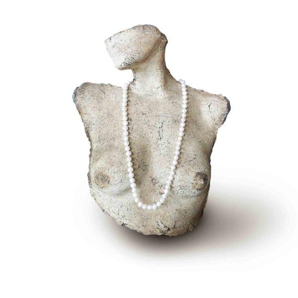 White Freshwater Potato Pearl Necklace