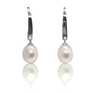 Angel Pearl Hook Earrings | Lullu Luxury Pearls South Africa